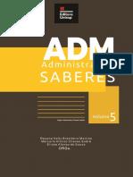 Livro Administrando Saberes Volume 05