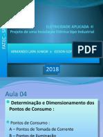 instalacoes eletricas FATEC 2018. AULA 04