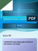instalacoes eletricas FATEC 2018. AULA 09
