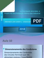 instalacoes eletricas FATEC 2018. AULA 10