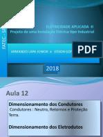 instalacoes eletricas FATEC 2018. AULA 12