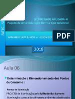instalacoes eletricas FATEC . AULA 06 2018