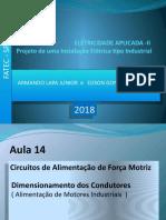 instalações elétricas FATEC 2018 , AULA 14