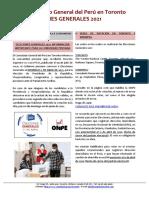 BOLETÍN CONSULAR - ELECCIONES GENERALES 2021
