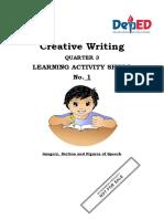Las in Creative Writing