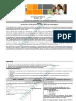 Programa preliminar Mecanica automotriz 2º Sec. Técnica