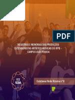 Registros e memórias das produções extensionistas artístico-musicais do IFPB – Campus João Pessoa