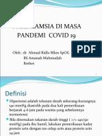 preeklamsia di masa pandemi Covid 19