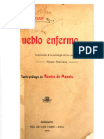 Pueblo Enfermo - Alcides Arguedas