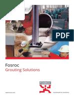 Fosroc India Grout Brochure