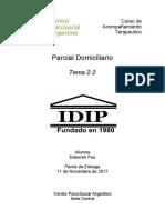 Parcial Domiciliario At