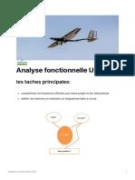 Analyse Fonctionnelle UAV