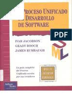 El Proceso Unificado de Desarrollo de Software - Jacobson - Booch - Rumbaugh