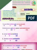 Oraciones de Lengua Originaria-GRUPO