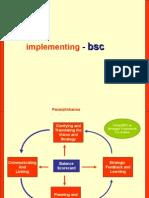 Implementation of Balanced Scorecard