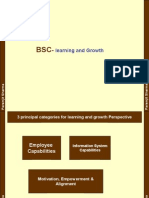 Balanced Scorecard-learning and growth