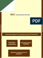 Balanced Scorecard-learning and growth