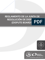 Reglamento de La Junta de Resolucion de Disputas (Dispute Boards) PUCP