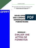 Module 5. Evaluation d_une séquence de formation