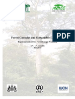Forest Canopies and Sustainable Livelihoods