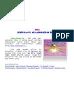 [AyoCariRumah.Com] Tips Bikin Lampu Kemasan Bedak Bekas, Making Light Powder Packaging