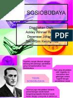 TEORI SOSIOBUDAYA