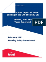 National Association of Home Builders Report (Feb. 2011)