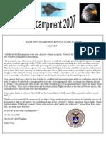 Maine Wing Encampment - 2007