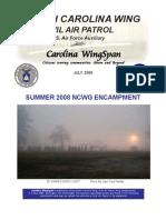 North Carolina Wing Encampment - 2008