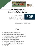 Regles bibliographiques PDF