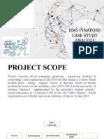 HMS PINAFORE CASE STUDY ANALYSIS