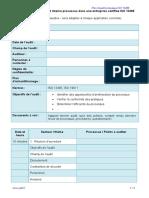 Exemple Plan d'Audit Processus