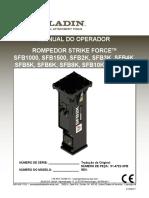 Rompedor-Hidraulico-Manual-Operação-1000-12000