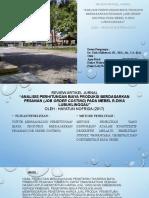 Review Jurnal Akuntansi Manajemen - Biaya Produksi Pesanan