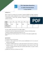 TD 6 Choix dInvestissement