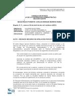 503246239 Auto Que Rechaza Recurso de Apelacion Del Contralor de Santa Marta Por Extemporaneo