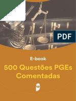 500 Questoes PGEs Comentadas 1