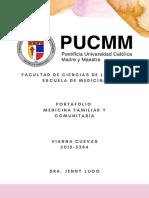 Portafolio Medicina Familiar y Comunitaria