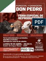 FORESTAL Y GANADERA DON PEDRO