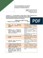 Actavidad N° 4 - Diferencias NIIF VS Fiscal Marzo 01 de 2021
