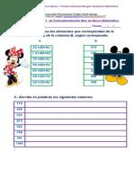 Matemática 3º Básicos Blanco- Azul Guía Resumen N º1 Marzo