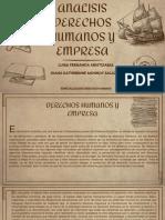 ANALISIS DERECHOS HUMANOS Y EMPRESA