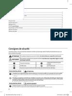 Air conditioner_User manual_Télécommande (DB98-33129A, for MR-DH00, DH00U & DC00)_fr