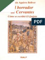 Aguirre Bellver Joaquin - El Borrador De Cervantes