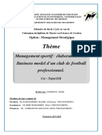 Management Sportif