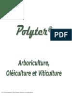 Polyter Arboriculture, Oléiculture et Viticulture