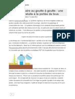 Irrigation Solaire Au Goutte à Goutte (2)