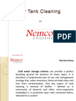 Water Tank Cleaning services UK