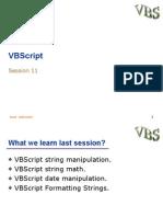 B VBScript11