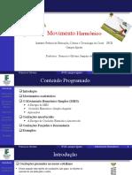Movimento Harmônico IFCe Iguatu